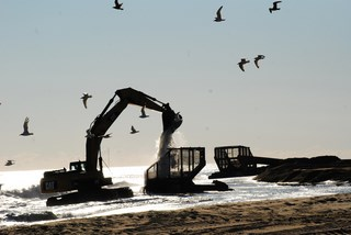 beach restoration benefits Rehoboth Beach property